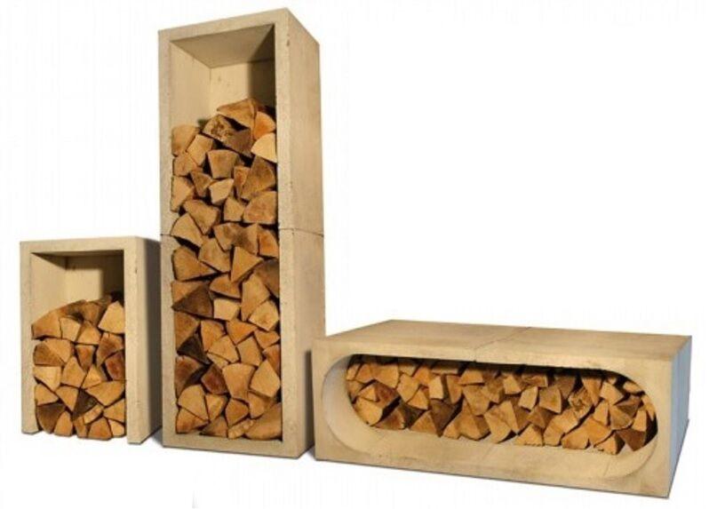 Betonholzbehälter