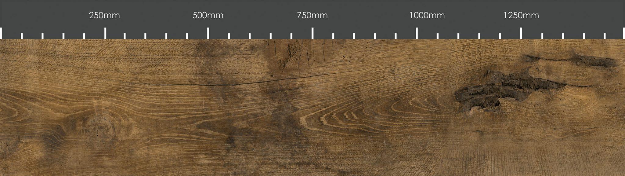 Massivholz Maßstab