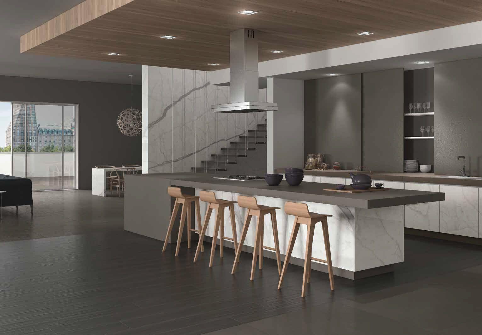 Küche und Arbeitsplatten